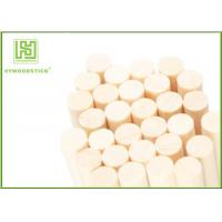 Buy cheap Food Grade Drink Stir Sticks , Round Wooden Sticks For Crafts Well Polished product