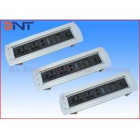 Buy cheap 180 Degree Desktop Motorized Flip Up Rotating Power Strip For Conference Furniture product