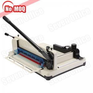 Buy cheap No MOQ new design a3 a4 desktop paper guillotine manual paper cutter book cutting machine manufacturer product