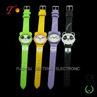 Buy cheap Well designed promotional PU strap kids watches as Christmas gift from wholesalers