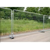 Buy cheap Galvanized Temporary Mesh Fence Removable Easy Installation 2.1m Height product