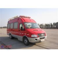 Buy cheap Communication Fire Command Vehicles With 100 Watt Alarm Function Module product