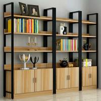 Buy cheap Bakery Shop Metal Frame Wood Shelves Corrosion Protection Customization Color product
