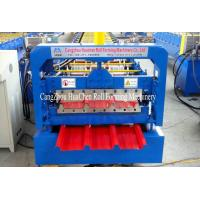 Buy cheap High Speed Steel Roofing Sheet Roll Forming Machine with Flying Cutting product
