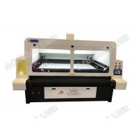 Buy cheap Double Heads Automatic Cloth Cutting Machine For Dye Sublimation Swimwear product