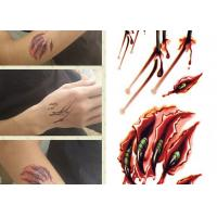 Buy cheap Custom Printed Temporary Body Art Tattoo Stickers For Adults Long Lasting from wholesalers