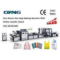 Buy cheap Multifunctional Automatic Non Woven Bag Making Machine Computerized 18 KW from wholesalers