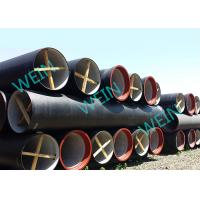 Buy cheap Large Diameter Ductile Iron Pipe Cement Lined Zinc Coating For Water Lines product