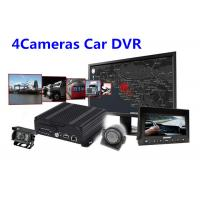 Buy cheap IOS Android Real Time Monitoring 4 Camera Car SD Card Digital Video Recorder product