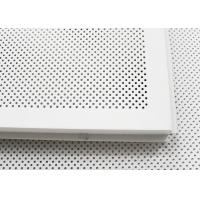Buy cheap 600 x 600 Acoustic Ceiling Tiles Aluminum Perforated Metal Ceiling for Open Area product