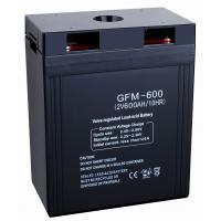 China 600ah 2v GFM600 storage power supply, 12v Sealed Lead Acid Batteries for security systems on sale