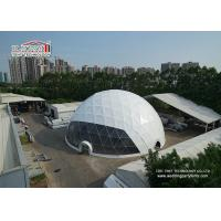 Buy cheap Half Sphere Outdoor Event Tents with High Reinforced Aluminum 6061/T6 Frame product