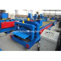 380V 50Hz Steel Tile Roll Forming Machine with PLC Compture Control System /