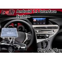 Buy cheap Android 7.1 Interface Navigation Box for 2012-2015 Lexus RX 450h Mouse Control , Google Play Store product