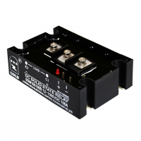 Buy cheap NO Indicator High Power Electronic 5A 15-28VDC SSR Relay product