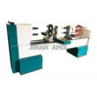 China Double Rotary Cbenchtop Wood Lathe , Four Blades Wood Turning Lathe Machine on sale