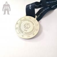 Buy cheap 3d Antique Metal Gold Medals Sports  Athletic Running Awarded 2mm  Thickness product