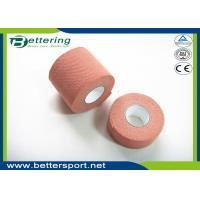 Buy cheap Brick Red Colour synthetic elastic finger protection tape Wrist Protection Fixation Tape for wound dressing product