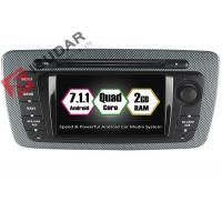 China Built - In Mirror Link 6.2 Android Car DVD Player Seat Ibiza Car Stereo Head Unit on sale