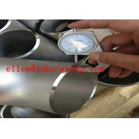 Buy cheap ASTM A815  ASME B16.9 UNS Stainless steel tee UNS S32750 UNSS32760 product