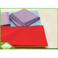 Buy cheap 45gsm TNT SpunBonded Non Woven Table Cloth Recyclable Eco Friendly 1m X 1m product