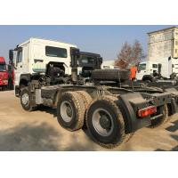 Buy cheap 80R22.5 Radial Tire Prime Mover Truck HOWO76 Long Cab Single Sleeper product