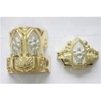 PP Recycled ABS Casket Corner Church Coffin Parts , Eco Friendly