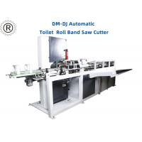 Buy cheap 11Kw Toilet Paper Roll Band Saw Cutter  /  Automatic Cutting Machine product
