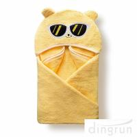 Buy cheap Customized Soft And Absorbent Cotton Baby Hooded Towels For Children Eco Friendly product