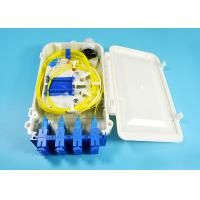 Buy cheap 12 Port SC FTTH-020 Series fiber optic termination box 0.9mm 2.0mm 3.0mm Pigtail Diameter product
