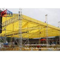 Buy cheap LED Screen Aluminum Stage Truss , Portable Stage Lighting Truss 15 X 25m Size from wholesalers