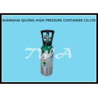 8L aluminum oxygen tank / oxygen portable cylinders with DOT standard