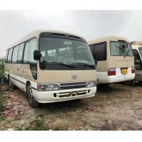 Buy cheap 111 - 130 Km / H Used Coaster Bus Manual Tourists Shuttle Bus 2015 - 2018 Year product