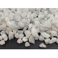 Buy cheap Fused White Alumina Unshaped Refractory Materials 5-8MM Thermal Shock Resistance product