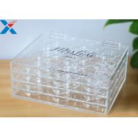 Buy cheap Custom 3 Layer Plexiglass Display Box False Eyelash Packaging Case Without Recycle product