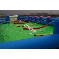 Buy cheap 0.45mm - 0.55mm PVC  Inflatable Sports Games Human Body Limited Football Field Game for Adult product