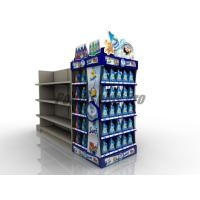 Buy cheap Curved Shelf Sustainable End Cap Shelving For Promoting Laundry Detergent product