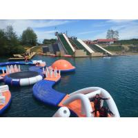Commercial Grade Inflatable Water Parks Equipment with Slide Game