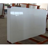 Buy cheap Polished Nano Glass Tile Shower Walls With Artificial Stone Straight Edge Finished product