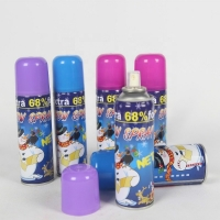 Buy cheap Resin 200ml Tinplate Can Flake Snow Spray For Celebration Party product