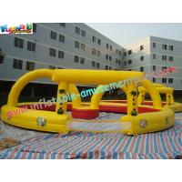 Buy cheap PVC Inflatable Sports Games Race Track , Inflatable Car Race Track product