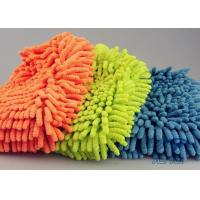 Buy cheap Easy Auto Care Microfiber Ultra Detersive Sponge Compounded Chenille Car Wash Glove product
