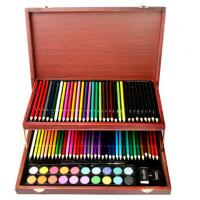 Buy cheap Children Art Set, 91 pieces in a nice elegant wood box product