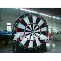 China Superb Spiele Inflatable Soccer Dart Board Commercial 0.55mm PVC Tarpaulin on sale