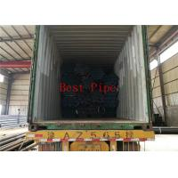Solid Material Alloy Steel Seamless Pipes TEVI SUDATE DIN INOX Black Painting Coated