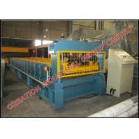 Buy cheap Professional Prepainted Steel Roof Panel Roll Forming Machine Thickness 0.4-0.7mm product