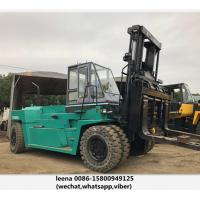 Buy cheap Japanese Mitsubishi Second Hand Diesel Forklifts / 30ton Used Forklift Trucks product