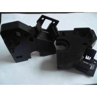 China Custom black delrin, POM, acetal plastic machining parts for hardware and electronics on sale