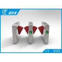 China Office Buiding Access Control Turnstile Gate ,Fingerprint Entrance Waist Height Turnstile on sale