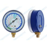 "Cheap 2.7"" PC screw in lens Freon pressure gauge measurement with brass internals wholesale"